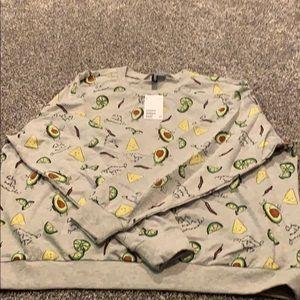 Holy guacamole sweatshirt
